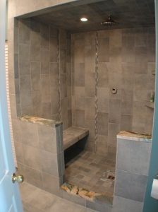 Building a steam shower for Build steam shower